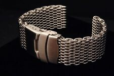 SHARK MESH (WITHOUT removeable links) 20mm 22mm or 24mm