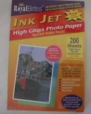 Royal Brites High Gloss Inkjet Photo Paper 200 Sheets 4 x 6in