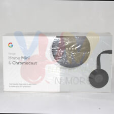Google Home Mini + Google Chromecast Bundle