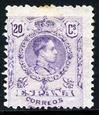 España 1921 Rey Alfonso XIII 20 C. Violeta SG 335 Como Nuevo
