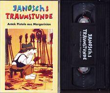 VHS Janoschs Traumstunde - Antek Pistole aus Margarinien - SONY - Videokassette