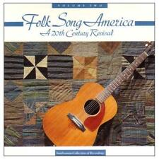 FOLK SONG AMERICA: A 20th Century Revival Vol.2 (CD 1991) USA Import MINT OOP