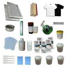1 Color Screen Printing Materials Kit Water Gun Pallet Adhesive Scraper Newest