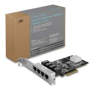Vantec  4-Port PCIe Gigabit Ethernet Network Adapter Card