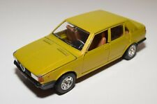 A7 1:25 MEBETOYS 8623 ALFA ROMEO GIULIETTA MUSTARD YELLOW EXCELLENT CONDITION