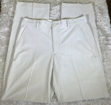 Men's FootJoy Performance Flat Front Golf Pants Size 33x34 Stone