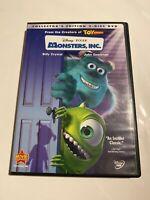 Monsters, Inc. (DVD, 2002, 2-Disc Set, Collectors Edition)