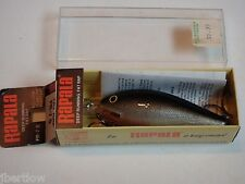 Vintage Rapala FR 7 Deep Runner Fat Rap Discontinued Crankbait Silver Old Stock!