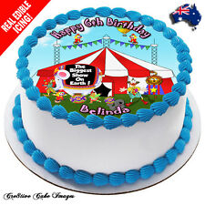 Circus Edible Cake Image Icing Birthday Decoration Personalised Party Topper