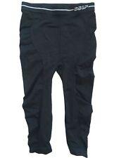 Bebe Sport Black Seamless Textured Yoga Fitness Workout Capri Leggings Size XS