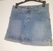 Jolt Girls Blue Skirt Button Cuff Size 10 (60)