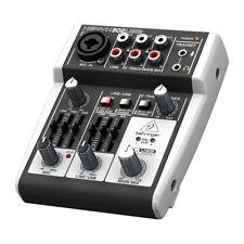 BEHRINGER xenyx 302USB mixer professionale 5 ingr.2 canali X live karaoke studio