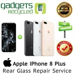 iPhone 8 Plus Rear Glass Replacement Repair Service - Same Day Repair & Return