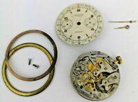 Landeron Vintage Chronograph Watch Movement for Parts - Good Balance (Q57)