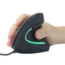 USB Wired  Mouse High Precision Optical Vertical Mouse Adjustable DPI 1200/3600