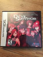 Shin Megami Tensei Devil Survivor Nintendo DS NDS Game Cib Complete Good BDS1