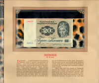 Most Treasured Banknotes Denmark 1980 20 Kroner P-49b.3 AUNC A5801K
