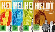 Heldt - Staffel 1,2,3,4 - Kai Schumann  - 13 DVD - 4 Boxen