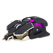 LED Backlight 4800 DPI Gaming Mice Mouse Wired USB 10D Button Gamer Mouse