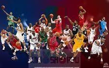 Poster A3 Michael Jordan Kobe Bryant Lebron James NBA Baloncesto Basketball 01