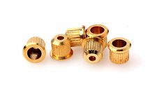 Rear mounted guitar string ferrules Gold plated fits Fender Tele®