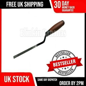 FINGER TROWEL THIN NARROW 10MM TUCK POINTING POINTER TOOL MASTIC BRICK LAYING