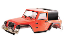 1:10 RC Clear Lexan Body - Jeep Rubicon for Monster Truck or Crawler