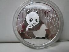2015 Chinese Panda .999 Silver 10Y 1 Ounce Coin