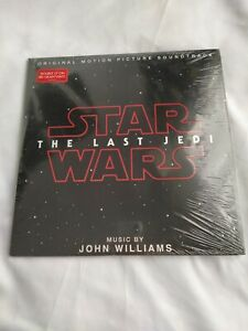 STAR WARS THE LAST JEDI double LP 180 gram vinyl New in packaging JOHN WILLIAMS