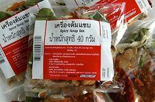 Thai sopa picante (Tom seab) Mix Set Hot auténtico 2 X 40g Packs libre Int de franqueo
