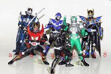 Bandai Kamen Masked Rider figure Ryuki Action Pose gashapon Part.1 set of 6 Pcs