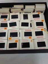 35mm Slides 1970s Mixed Lot 500 from Estates Family Events Travel