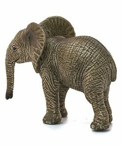 New Schleich African Elephant Calf Wild Life Realistic Collectible Figure