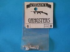 CITADEL MINIATURES -PRE SLOTTA GANGSTERS METAL MODEL IN BAG 1980S