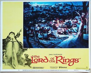 J.R.R. Tolkein's The Lord of the Rings 1978 Ralph Bakshi Original US Lobby Card