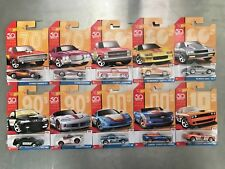 HOT WHEELS Throwback Series Complete Set of 10 50th Anniversary Camaro Silverado