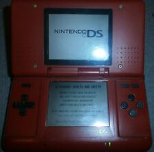 Nintendo DS Console-Handheld-Rouge-fonctionnel