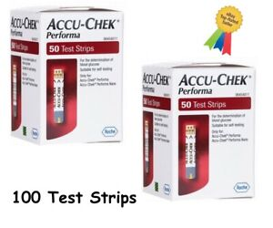 Accu-Chek Performa Test Strips —Long Expiry 2 Pack Of 50