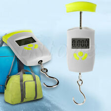 50Kg Portable Electronic LCD Hanging Luggage Digital Scales Pocket Weight Scale