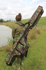 Cult DPM Camo 3 Rod Holdall or Single Rod Sleeve 12ft / 13ft NEW Carp Fishing