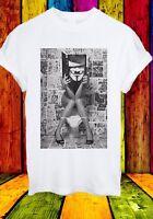 V For Vendetta Novel Reading Comics Guy Fawkes WC Men Women Unisex T-shirt 747