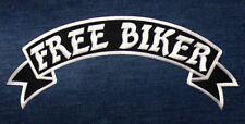 Aufnäher Patch Aufbügler Free Biker Bike Motorrad Road Rider Kutte Weste Jacke