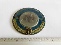 Vintage German Automobile Club Porcelain Enamel Metal Car Grille Badge Sign 499