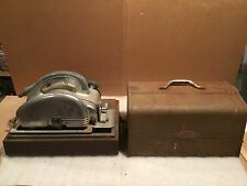 "Vintage Sears Craftsman 8"" Circular saw model# 207.25602-Case-Rip guide (Tested)"