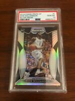 2019 PANINI PRIZM DP BASKETBALL ZION WILLIAMSON SILVER PRIZM ROOKIE #1  PSA 10
