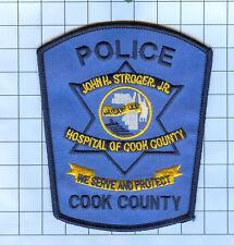 Police Patch - Illinois - jOHN H STROGER JR. COOK COUNTY HOSPITAL