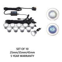 Deck Lights Kit IKON PRO 25/35/45mm IP67- Colour Switch Daylight White/Cool Blue