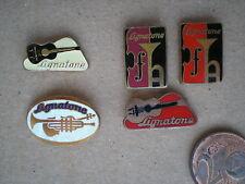 Vintage Musical Instruments LIGNATONE / Czechoslovak Badges