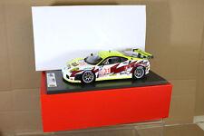 BBR MODELOS ab18009 Ferrari F430 GT Peterson Blanco 31 GIDLEY Sebring 2007 NF