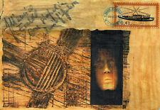 ENNIO D'AMBROS - Dipinto Collage Tecnica mista - 2005